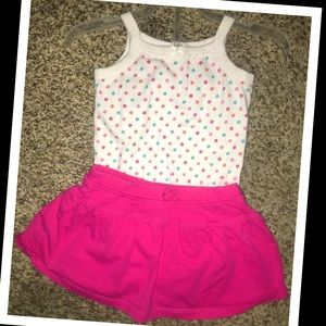 The Children's place 2pc. Baby girl outfit💖